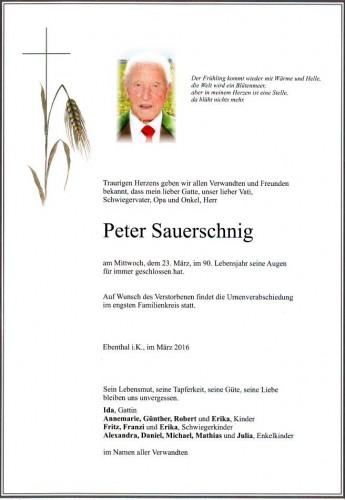 Peter Sauerschnig