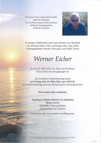 Werner Eicher