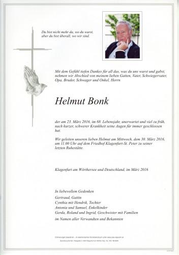 Helmut Bonk