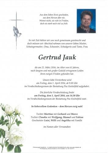 Gertrud Jauk