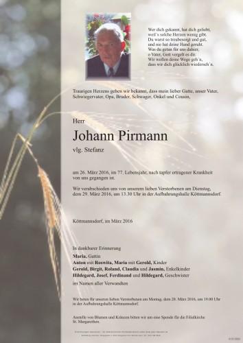 Johann Pirmann