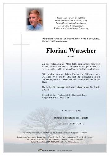 Florian Wutscher