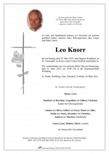 Leo Knorr