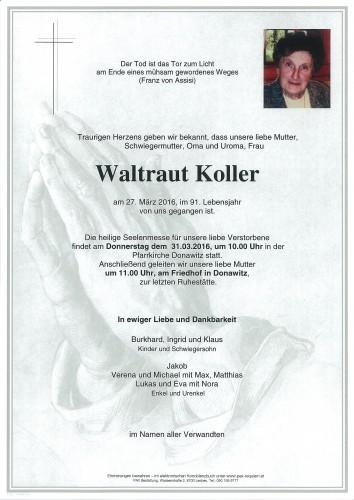 Waltraut Koller