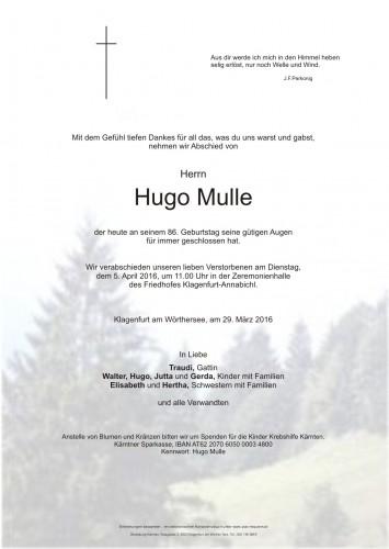 Hugo Mulle