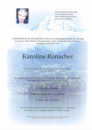 Karoline Ronacher