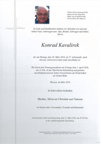 Konrad Kavalirek