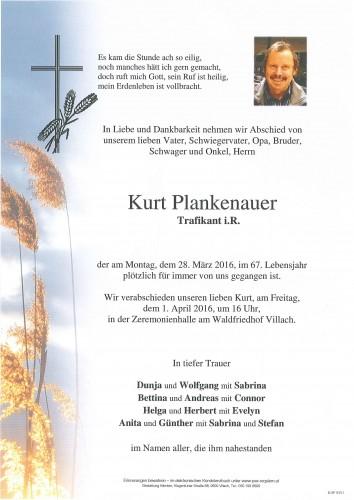 Kurt Plankenauer