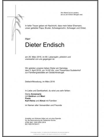 Dieter Endisch