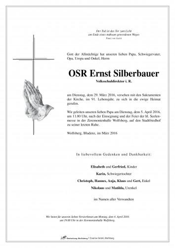 OSR Ernst Silberbauer