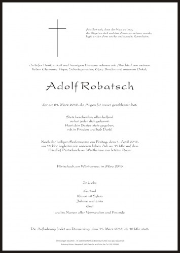 Adolf Robatsch
