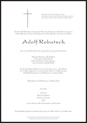 Adolf Robatsch