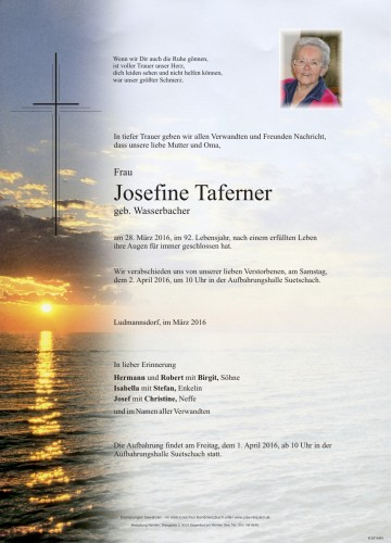 Josefine Taferner