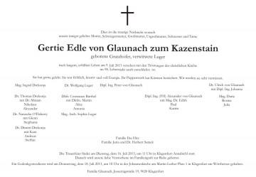 Gertie von Glaunach