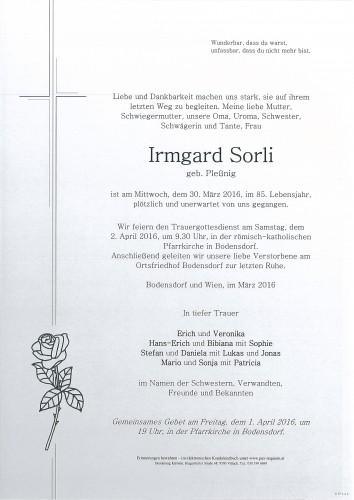 Irmgard Sorli