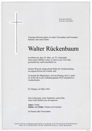 Walter Rückenbaum