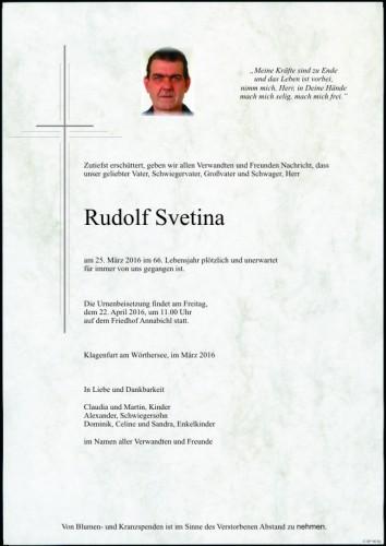 Rudolf Svetina