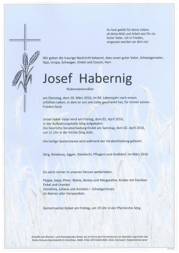 Josef Habernig