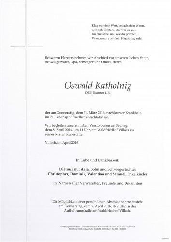 Oswald Katholnig