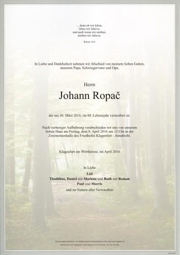 Johann Ropač