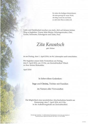 Zita Kowatsch