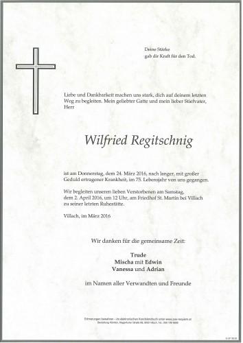 Wilfried Regitschnig