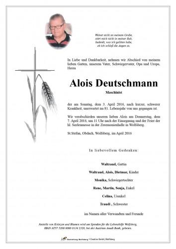 Alois Deutschmann