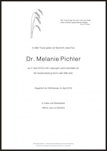 Dr. Melanie Pichler