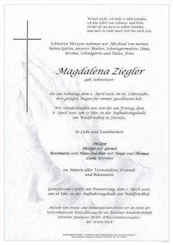 Magdalena Ziegler