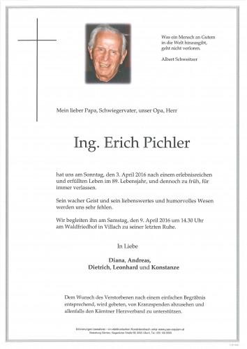 Ing. Erich Pichler