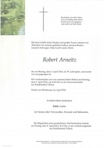 Robert Arneitz