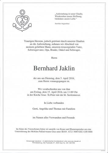 Bernhard Jaklin