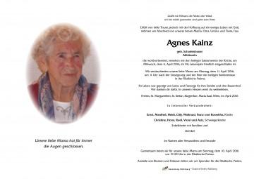Agnes Kainz