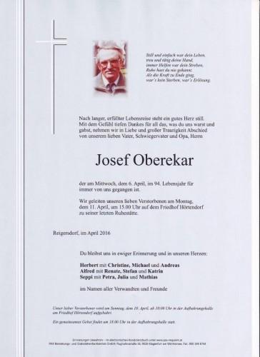 Josef Oberekar
