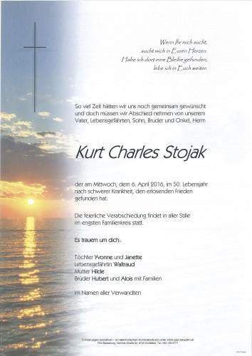 Kurt Charles Stojak