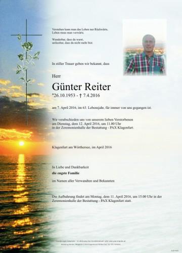 Günter Reiter