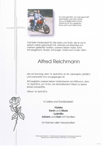 Alfred Reichmann