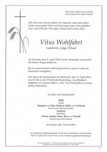 Vitus Wohlfahrt