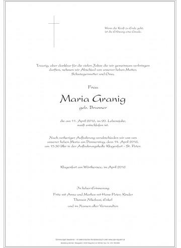 Maria Granig