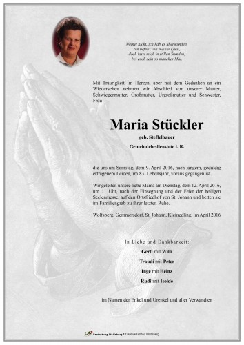 Maria Stückler