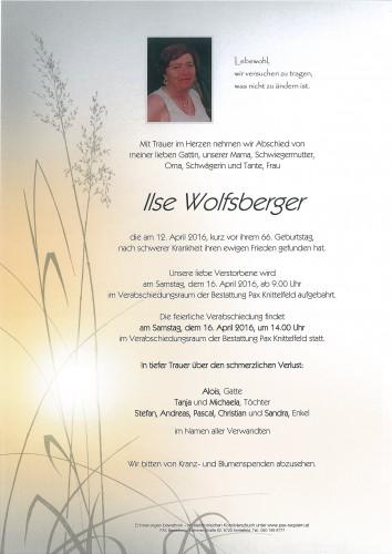 Ilse Wolfsberger