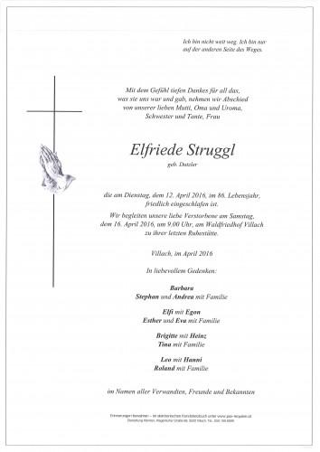 Elfriede Struggl geb. Dutzler