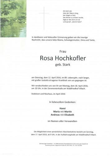 Rosa Hochkofler