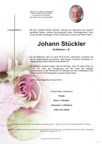 Johann Stückler