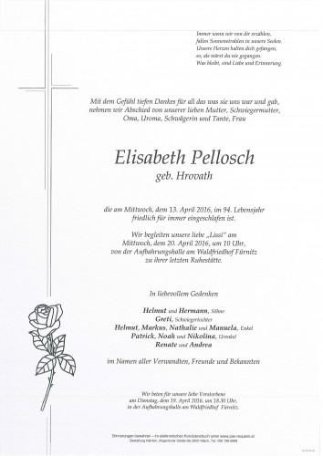 Elisabeth Pellosch