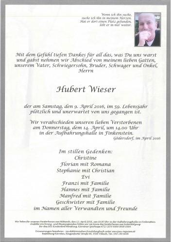 Hubert Wieser