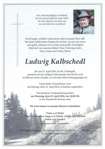 Ludwig Kalbschedl