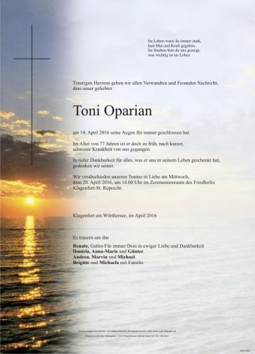 "Anton ""Tonino"" Oparian"