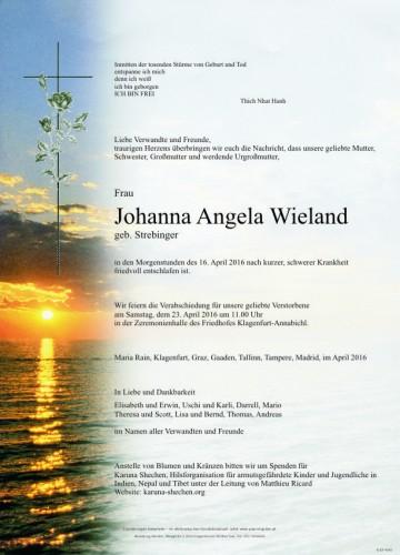 Johanna Angela Wieland