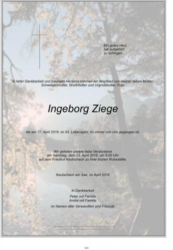 Ingeborg Ziege